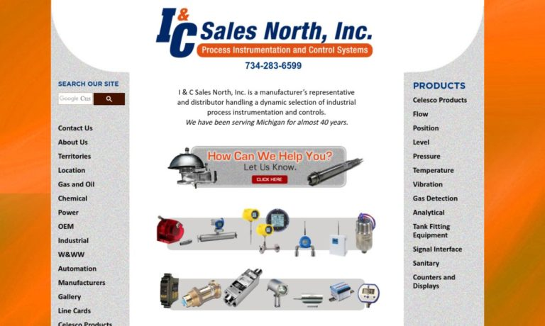 I & C Sales North, Inc.