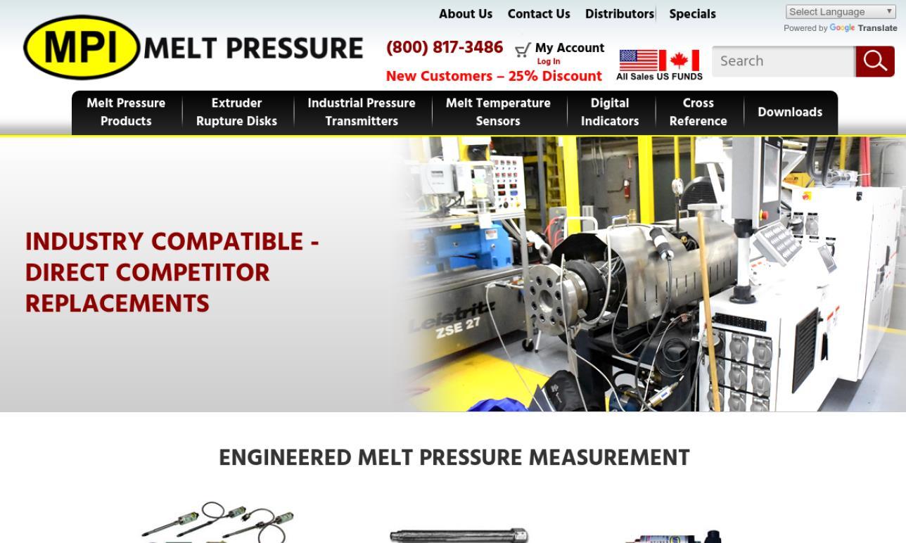 MPI Melt Pressure