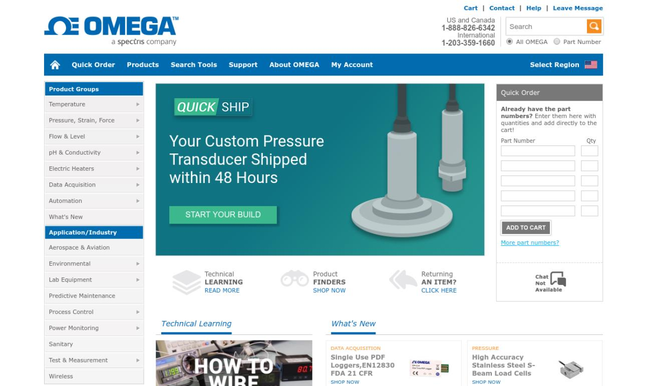 OMEGA Engineering, Inc.