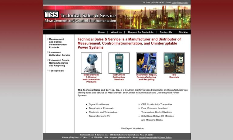 Technical Sales & Service, Inc.